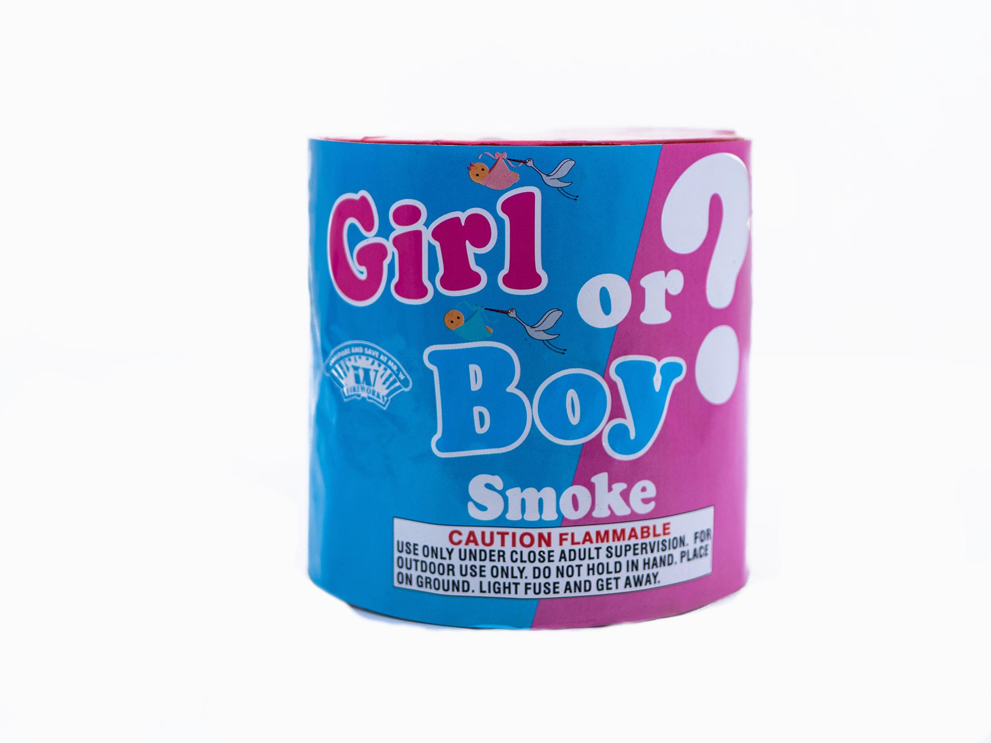 Boy or Girl Smoke