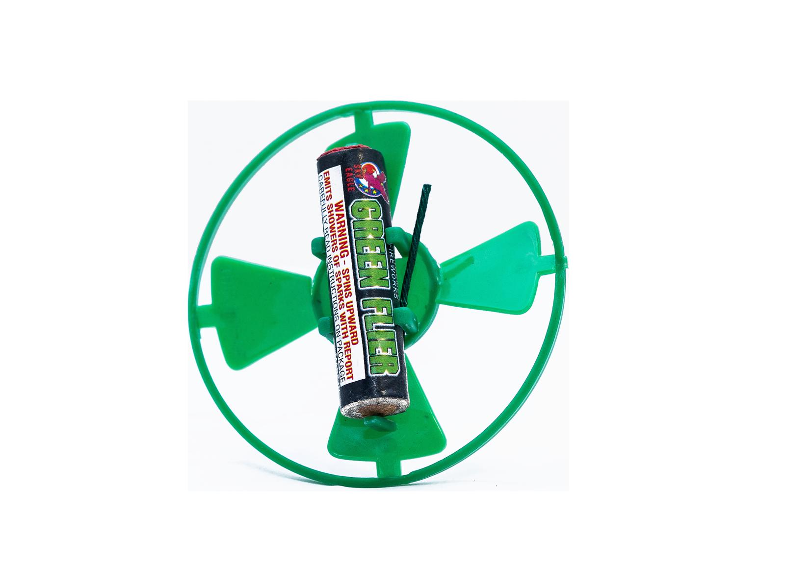 GR BLOOM FLIER / GREEN FLIER (Pack of 6)